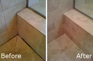 Bathroom Cleaning Before and After